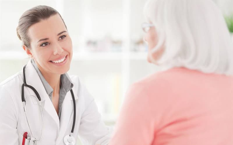 Девствиница на приеме у гинеколога вил